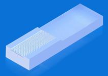 集成光学用V型槽-16通道V槽